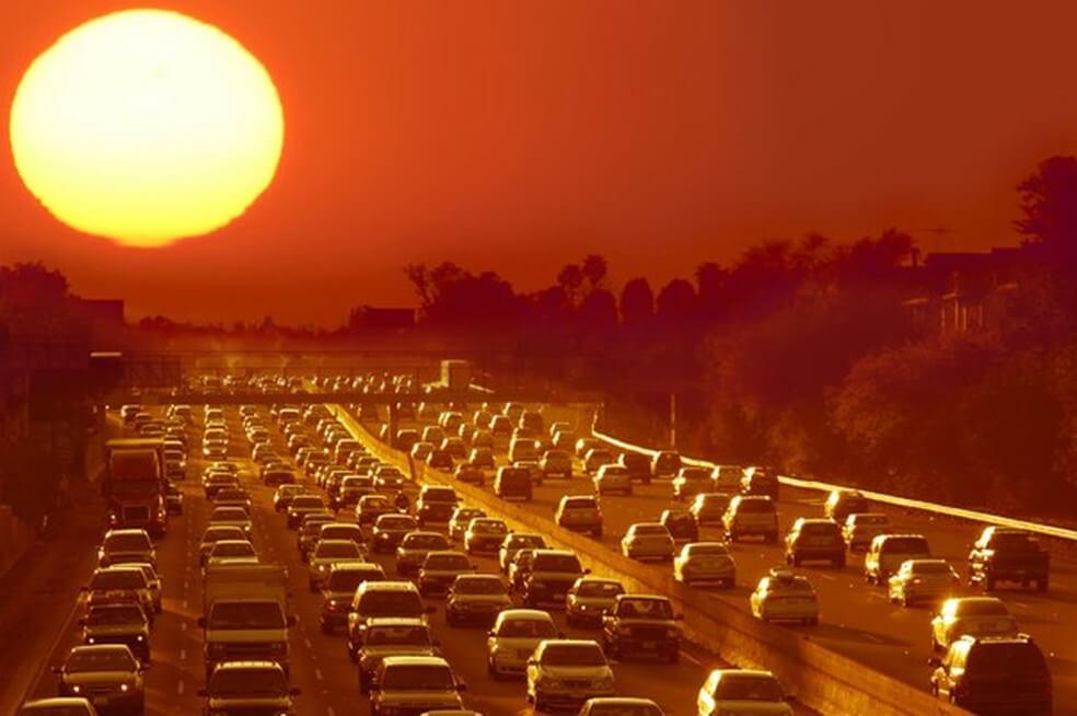 Calor no trânsito: confira dicas para aguentar as altas temperaturas